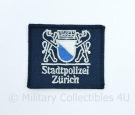 Zwitserse Stadtpolizei Zurich embleem  - 6 x 5 cm - origineel