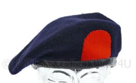 Korps Mariniers donkerblauwe baret uit de jaren 50 - maat 54 - origineel