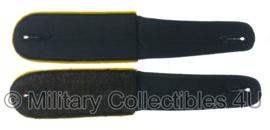 WO2 Duitse schouderstukken met gele nachrichten bies katoen voor Drillich zomer uniform - replica