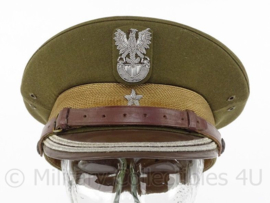 Poolse leger pet - hogere rang met 1 ster - maat 54 - origineel