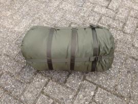 KL Nederlandse leger - Slaapzak compressiezak Slaapzak Modulair - 60 x 30 cm. -  groen  - origineel