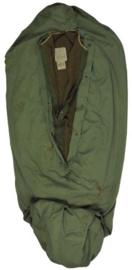 M1944 Wool Sleeping Bag System US Army Case Sleeping bag MET water repellent hoes en MET lakenzak 1945 - origineel