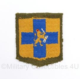 Zeldzaam MVO embleem Generale staf - 6 x 5 cm - origineel