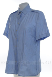 Klu Luchtmacht dames blouse Lichtblauw - korte mouw - maat 37 - origineel