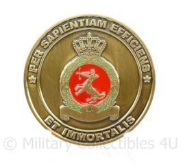 Klu Luchtmacht coin 301 squadron   - origineel