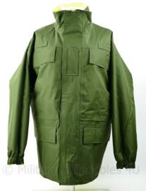 Britse Jacket reversible high visability MVP Green Yellow Military Police - medium - origineel