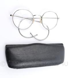 Defensie MVO bril in brillendoosje Dienstbril - 14,5 x 5,5 cm - origineel
