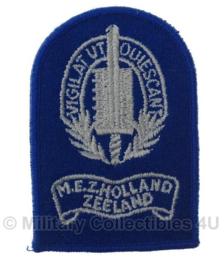Gemeentepolitie M.E.Z. Holland Zeeland embleem - origineel