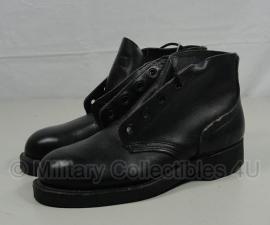 Zwarte ANSI lederen leger schoenen - WO2 Brits model - US Size 4r = maat 37  - origineel