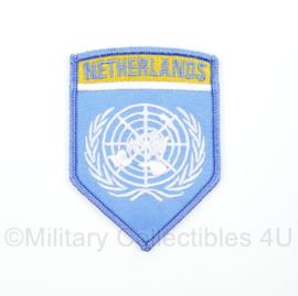 VN UN United Nations Netherlands Korea Oorlog embleem - 8 x 6 cm