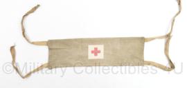 MVO Geneeskundige dienst oefen armband rood kruis - 30 x 9,5 cm - gebruikt - origineel
