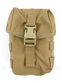 Defensie Korps Mariniers en US Army coyote Molle Medium Utility pouch - nieuw - 19 x 14,5 x 8 cm - origineel