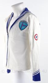 """USN US Navy matrozen uniform shirt """"USS Midway"""" - maat S - origineel"""