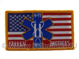 911 WTC Fallen Brother flag - nieuw gemaakt