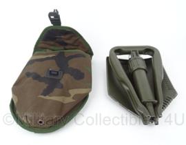 Korps Mariniers klapschep in forest camo hoes - zeldzaam - origineel