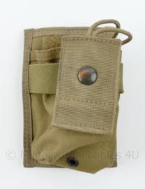 Defensie Korps Mariniers en US Army Molle pouch voor portofoon en radio - 13 x 8,5 x 5 cm - origineel