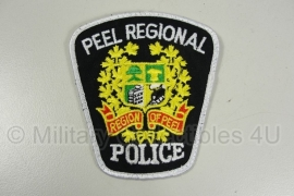Peel Regional Police Patch - origineel
