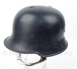 WO2 Polizei en Feuerwehr Duitse helm - DRP Thale stempel - maat 58 - origineel WO2
