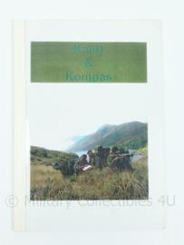 Korps Mariniers naslagwerk - handboek kaart en kompas - origineel