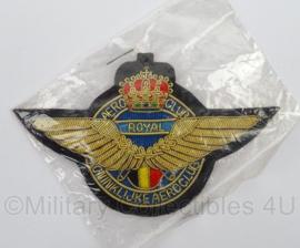 Belgische Koninklijke Aeroclub Royal luxe embleem - origineel