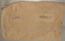 Britse plunjezak khaki -  origineel leger - weer op voorraad!