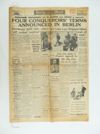 News Chronicle krant - 6 June 1945 - NAAFI Issue - origineel