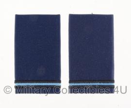 KLU Koninklijke Luchtmacht schouderstukken set - Tweede Luitenant - origineel