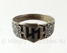 WO2 Duitse SS Divisie Das Reich ring met stempels - diameter 21 mm