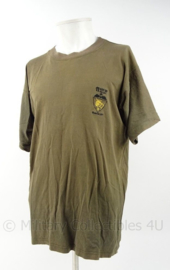 KM Marine RNMC Korps Mariniers shirt Bosnie 97 11 Coy QP - maat XL - origineel