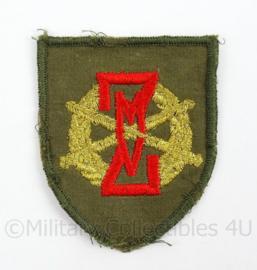 KL Landmacht vaardigheids embleem ZMV Zware Militaire Vaardigheidsproeven- afmeting 5,5 x 7 cm - origineel