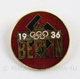WO2 Duitse Olympiade speld 1936 Berlin - Olympische spelen Berlijn 1936 - doorsnede 2,5 cm - replica