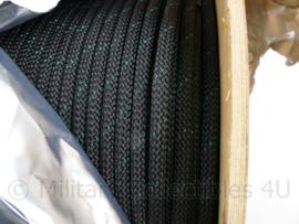 Marlow Ropes Abseil rope 11 mm dik black green - verkoop PER METER - origineel