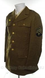 US Class A jas Technician 4th grade - size 37L = maat 47 lang - origineel WO2 1943