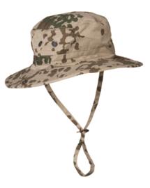 BW Bundeswehr flecktarn Tropen hoed boonie - 57, 58 of 60 cm - origineel