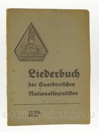 Liederbuch Der SaarDeutschen Nationalsozialisten - 32 bladz. - origineel