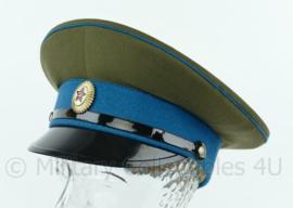 Russische Leger luchtmacht platte pet met insigne - maat 53 - origineel