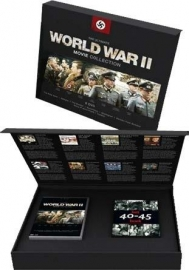 Ultimate World War II Movie Collection - 10 DVD's en gratis boek