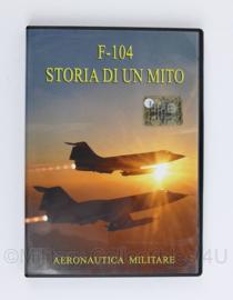 DVD F-104 starfighter Storia Di Un Mito -  Aeronautica Militare - nieuw - origineel