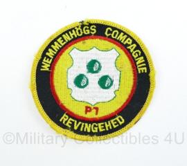Zweedse leger revingehed P7 Wemmenhogs Compagnie embleem  - origineel