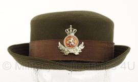 KL Nederlandse leger DT DAMES hoed voor 2000 - officier - maat 54 - origineel