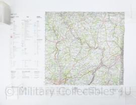 Duitse Stafkaart Trier C6302 - 1 : 100.000 - 55 x 75 cm - origineel