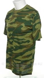 Russisch Flora camo T shirt - S, M of 3XL
