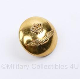 Klu Luchtmacht DT  knoop 24 MM goudkleurig - origineel