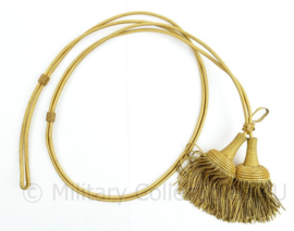 Defensie antieke gouden Fourragère met 2 kwasten  - origineel