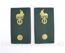 Defensie DT2000 epauletten Korps/Regiment Adjudant - 9 x 5 cm - origineel