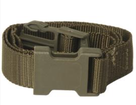 Multifunctionele Equipment strap - Groen 80 x 2,5 cm. - ongebruikt origineel