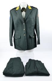 KL DT2000 Dames uniform set - rok en broek - rang Sergeant- Majoor - maat 21 - origineel