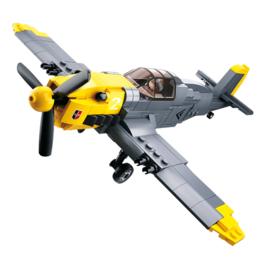 Sluban (geen lego) WO2 Duitse Luftwaffe piloot met vliegtuig - type M38-B0692