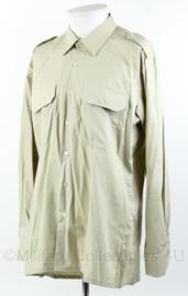 Korps Mariniers Kazernetenue overhemd lange mouw - maat 42-4 - maker ECC origineel