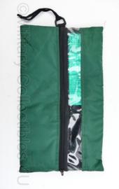 Defensie medische koeltas voor infuus - 22,5 x 39 cm - origineel